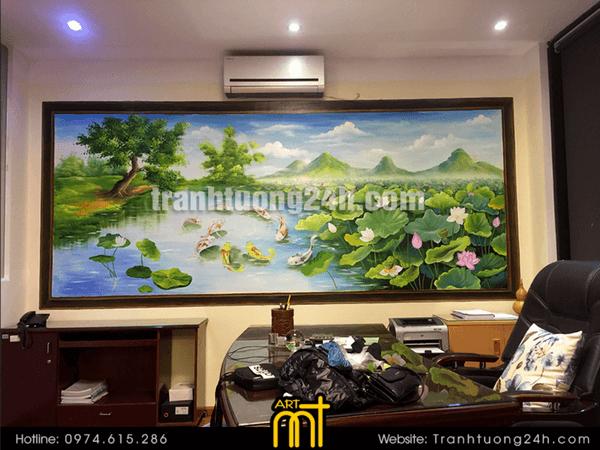 Vẽ tranh tường 3D đẹp giá rẻ tại Hà Nội, bảo đảm uy tín và chất lượng