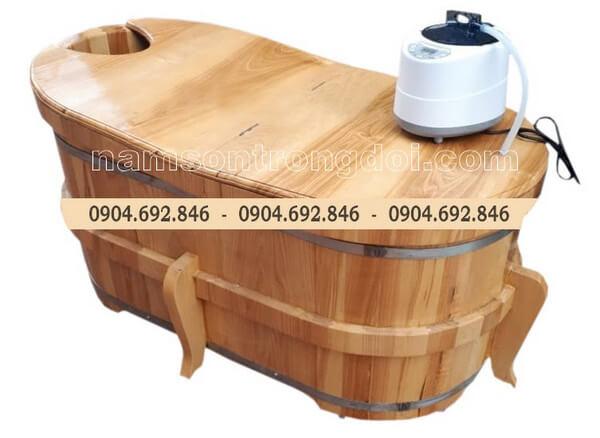 Tại sao nên mua bồn tắm gỗ ? Quy trình sản xuất bồn gỗ.