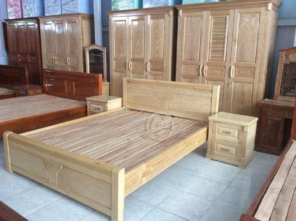 Giường ngủ gỗ tự nhiên cao cấp – món đồ không thể thiếu trong phòng ngủ