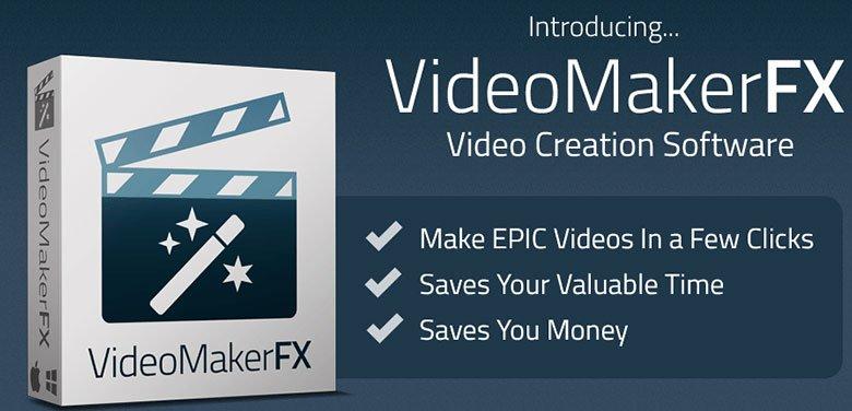 Phần mềm làm clip chuyên nghiệp - Video Maker Fx