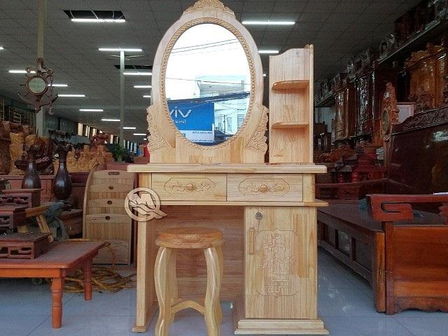 Hướng dẫn lựa chọn mẫu bàn trang điểm gỗ cho phái đẹp