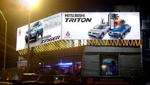 Bảng quảng cáo ngoài trời Hiflex
