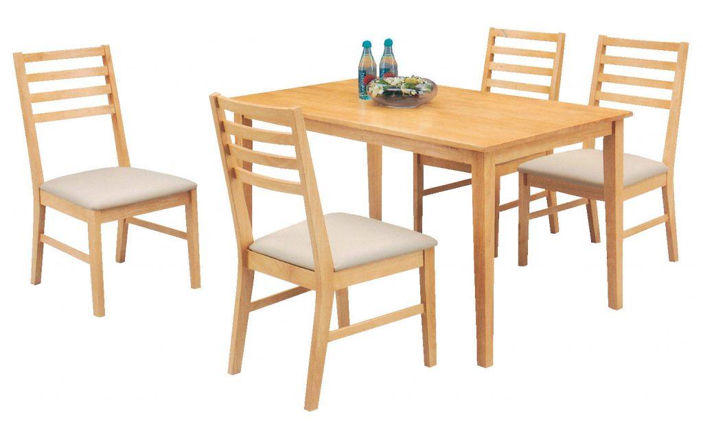Bỏ túi ngay 4 mẹo chọn mua bộ bàn ăn gỗ cao su tự nhiên chất lượng giá rẻ