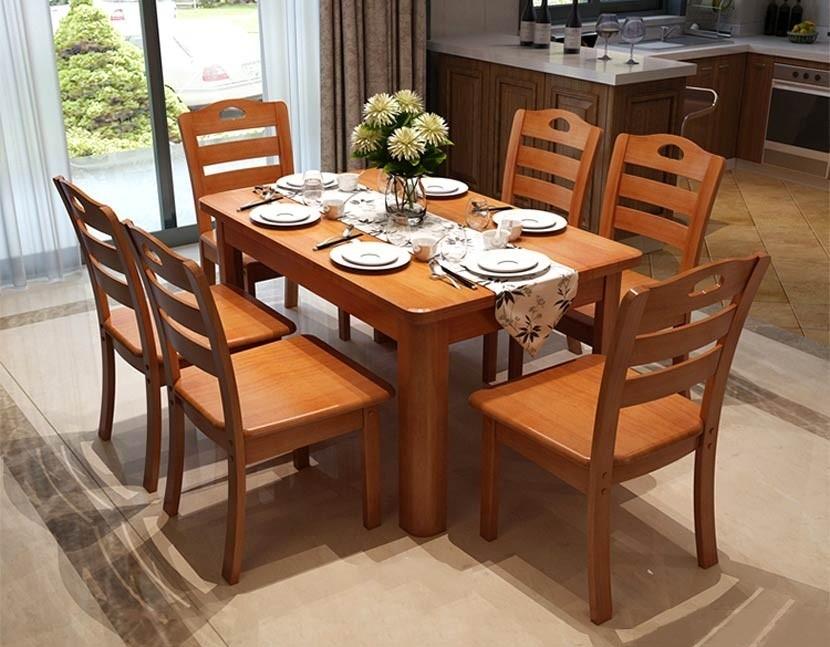 Bí quyết chọn mua bộ bàn ăn 6 ghế hiện đại nhưng phù hợp túi tiền?
