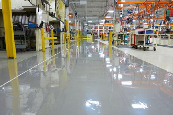 Những loại sơn sàn epoxy cho nhà xưởng phổ biến hiện nay