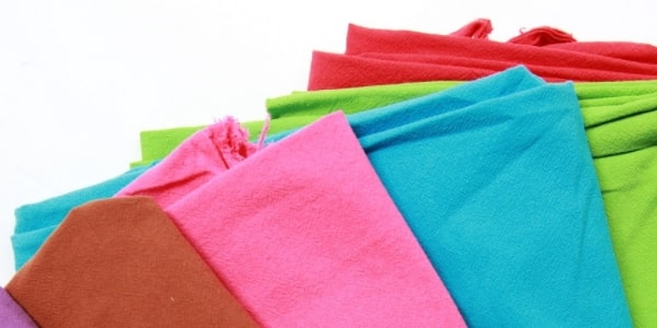 Các loại vải áo thun tốt thường được sử dụng để may áo thun