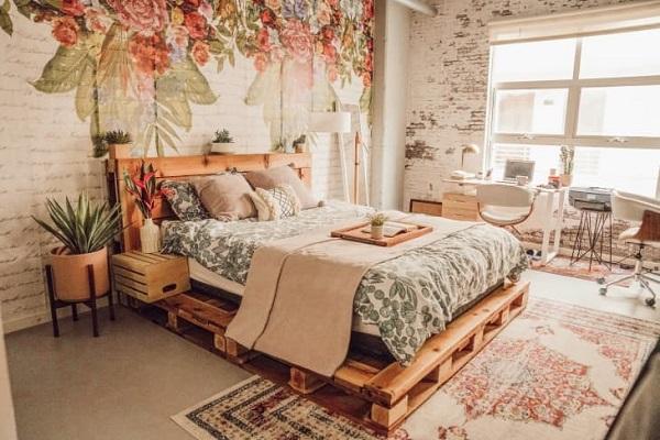 BST Mẫu giường Pallet gỗ cao cấp rẻ đẹp tại TPHCM