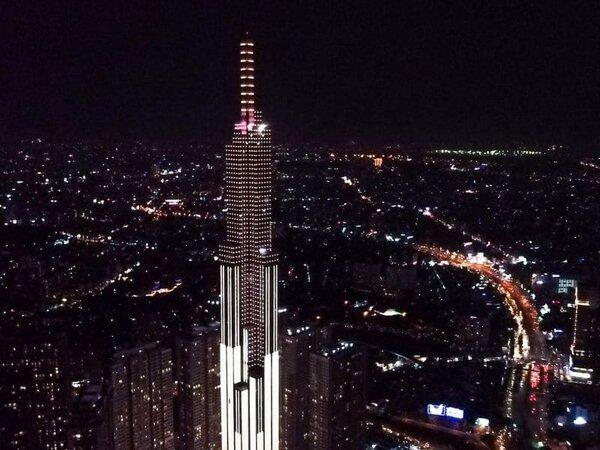 Đèn LED thanh trang trí tòa nhà mẫu 3