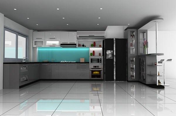 5 món đồ nội thất không thể thiếu với một nhà bếp hiện đại.