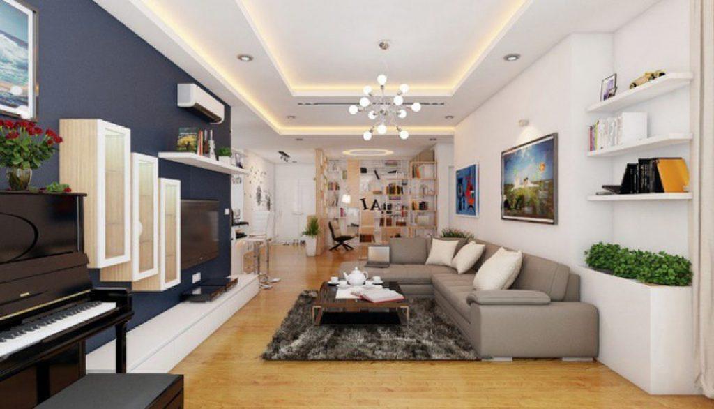 Thiết kế thi công nội thất chung cư trọn gói uy tín tại Khai Đạt