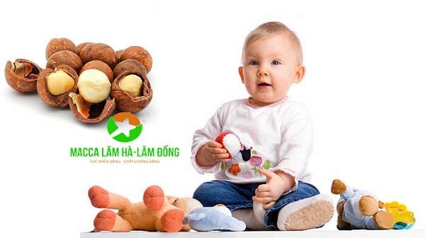 Trẻ em sử dụng hạt macca có tác dụng gì | Macca Lâm Hà – Lâm Đồng