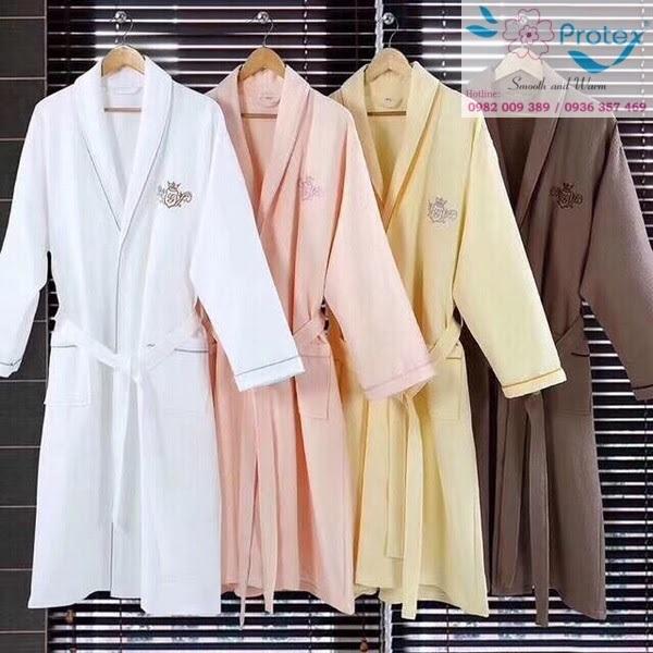 Công ty Protex chuyên sản xuất áo choàng của khách sạn chất lượng