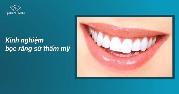 Quy trình thực hiện bọc răng sứ ra sao?