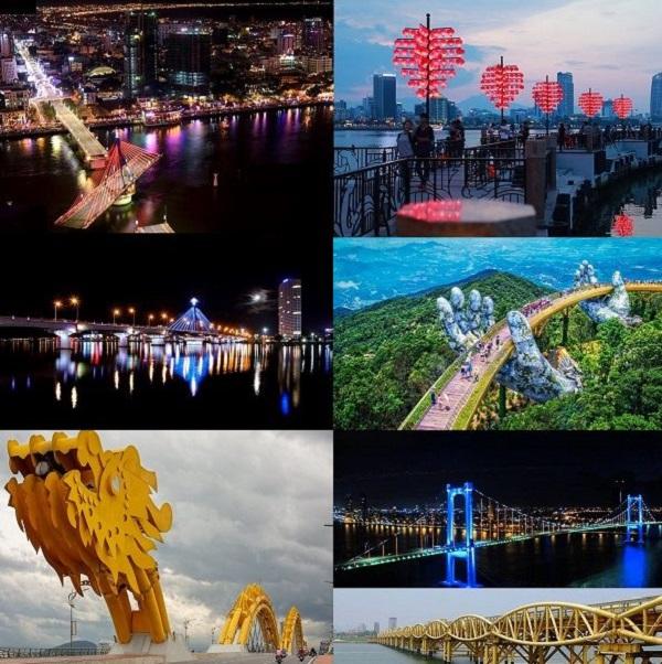 7 cây cầu độc đáo tại Đà Nẵng