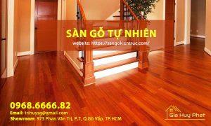 Sàn gỗ tự nhiên - Gia Huy Phát