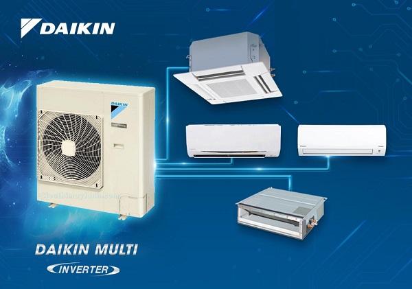 Nên lựa chọn máy lạnh Multi Daikin hay multi LG?