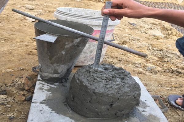 Độ sụt bê tông là gì? Tại sao phải kiểm tra độ sụt bê tông?