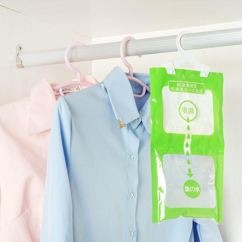Túi hạt hút ẩm treo tủ quần áo