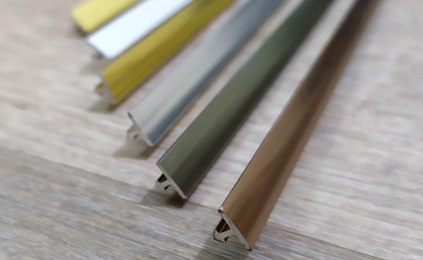 Các loại nẹp nhôm phổ biến trong thi công nội thất